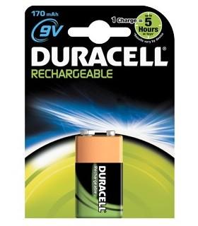 Pila Duracell Ricaricabile 9V 170 mah