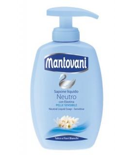 Sapone Liquido Mantovani Talco e Fiori Bianchi da 300ml