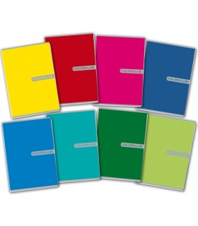 Maxi Quaderni Color Club rig. Q 80 Pagine conf. 10 pz. colori assortiti