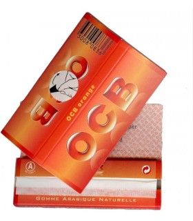 Cartina OCB corta Orange conf. 50 libretti da 60 cartine