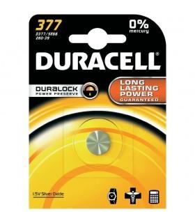 Pila Duracell a bottone  377  conf. da 10 blister