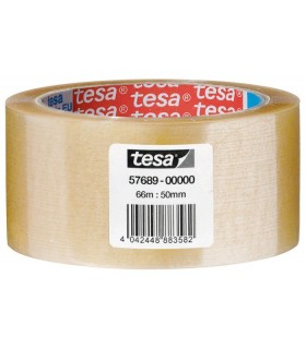 Nastro da pacchi Tesa 50x66 conf. da 6 pz. Trasparente
