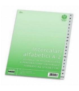 Intercalari Alfabetici A-Z Lebez in PPL