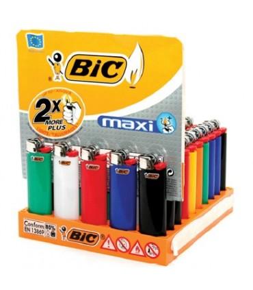 Accendino Bic Maxi (senza regolatore)  conf. da 50 pz.
