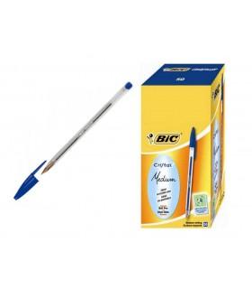 Penna Bic Cristal conf. 50 pz. colore blu