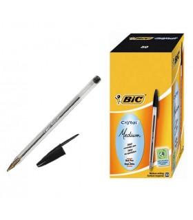 Penna Bic Cristal conf. da 50 pz colore nero