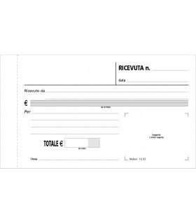 Ricevute Generiche 3 Copie Mis.10x17 cm