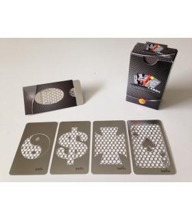 Grinder Cards Metallo conf. da 20 pz.