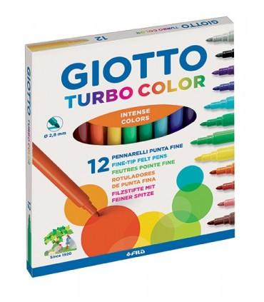 Pennarelli Giotto Turbo color da 12 pz.