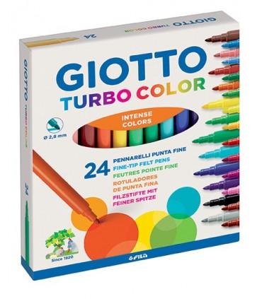 Pennarelli Giotto Turbo color da 24 pz.