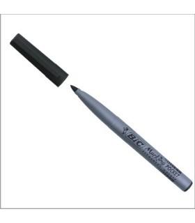 Marcatore Bic Pocket Punta Tonda  1.1mm conf. da 12 pz. colore nero