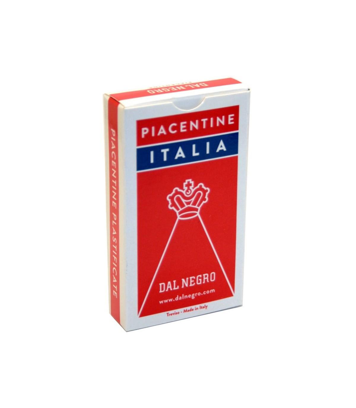 Carte regionali Piacentine Italia Astuccio Rosso Dal Negro