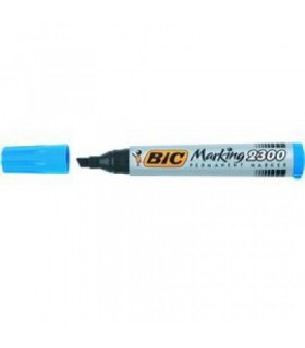 Marcatore Bic 2300 Punta Scalpello conf. da 12 pz. colore Blu