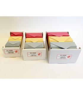 Biglietti da Visita F.TO 4 Perlati conf. da 150 pz. colori Rosso-Argento-Oro