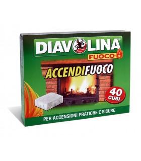 Diavolina Accendifuoco da 40 Cubi