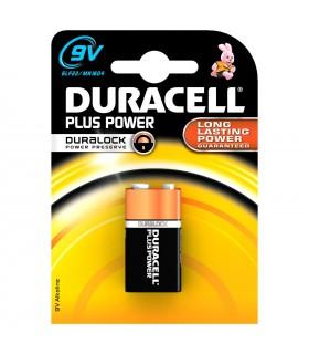 Duracell Plus  9 Volt      conf. da 10 blister