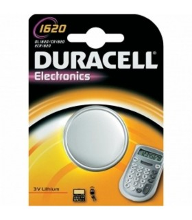 Pile Duracell a bottone 1620  conf. da 10 blister