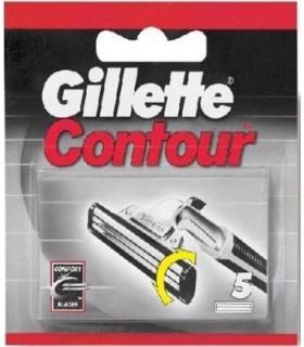 Ricambi Gillette Contour 5 pz
