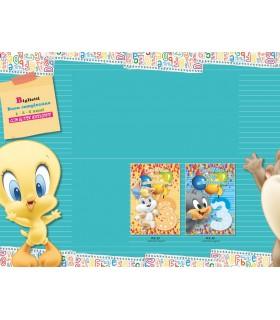 """Biglietto Marpimar Buon Compleanno Looney Tunes """"3Anni"""" conf. da 12 pz. assoriti in 2 soggetti"""