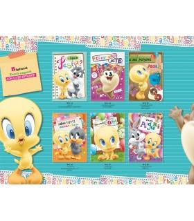Biglietto Marpimar Compleanno Looney Tunes con Glitter conf. da 12 pz. assortiti in 6 soggetti