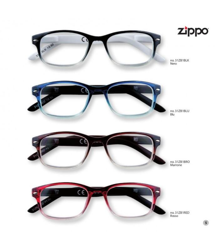 Occhiali da vista marroni Zippo FLU6ud