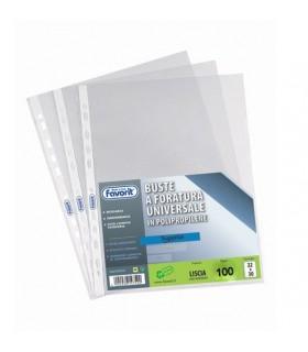 Buste Air Favorit foratura universale Liscia  formato 22 x 30 conf. 100 pz.
