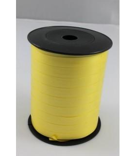 Nastro 250 metri opaco h. 1 cm.  colore giallo