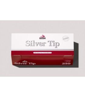 Tubi Gizeh Silve Tip da 250 conf. da 4 pz.