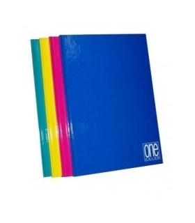 Quaderno cartonato One Color  rig.4M conf. 5 pz. colori assortiti