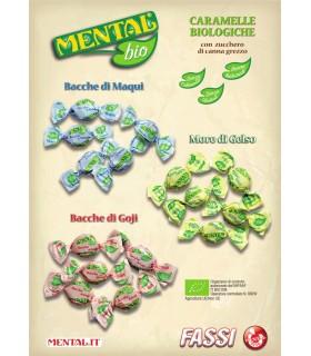 MENTAL BIOLOGICHE CON BACCHE DI MAQUI SFUSE BUSTA DA 1 KG