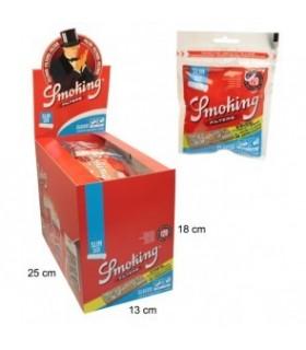 Filtri Smoking Slim 6mm con Cartina Smoking Arancio conf.  30 pz.