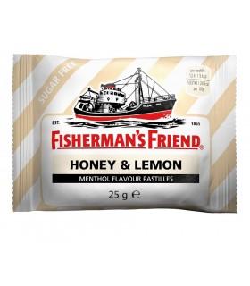 FISHERMAN'S MIELE E LIMONE BUSTINA DA 25 GR CONF. DA 24 PZ.