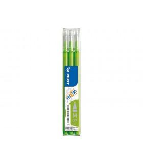 Ricambi Frixion blister da 3 pz. colore verde chiaro
