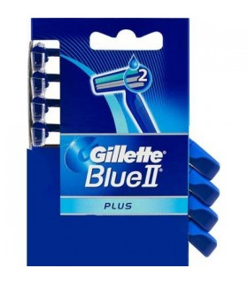 Gillette Blue II Plus  4pz. usa e getta conf. da 20 blister