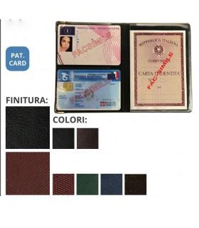 Portadocumenti Multiplo per Tessere e Carta Didentità in PVC Expo da 24 pz. colori assortiti
