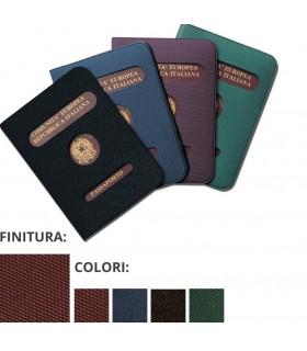 Porta Passaporto con Copertina in PVC Expo da 24 pz. ass. in 4 colori