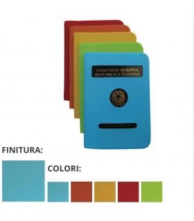 Porta Passaporto Colorato con Copertina in PVC Expo da 24 pz. ass. in 4 colori