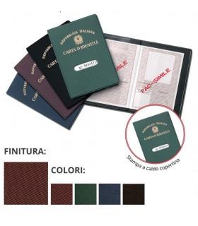 Porta Carta D'identità in PVC Expo da 24 pz. ass. in 4 colori