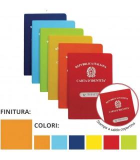 Porta Carta D'identità Colorato in PVC Expo da 24 pz. ass. in 6 colori
