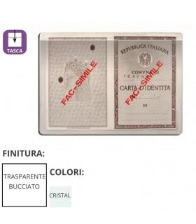 Porta Carta D'identità Trasparente in PVC Expo da 100 pz.