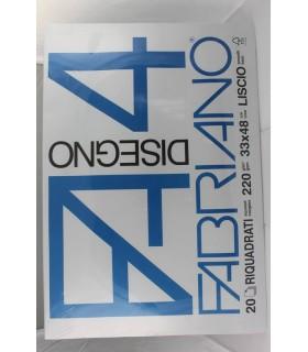 Blocco disegno Fabriano F4  33X48   Riquadrato