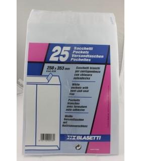 Buste a sacco Blasetti  mis. 25x35   blister da 25 pz