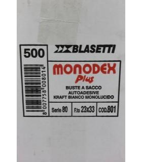 Buste a sacco Blasetti  mis. 23x33  Cartone da 500 pz