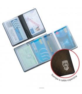 Portacard a 5 Scomparti con Protezione Contactless anti lettura Expo da 24 pz. colori assortiti