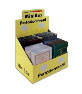 Expo Portacard e Portadocumenti da 96 pz. assortito con 4 modelli