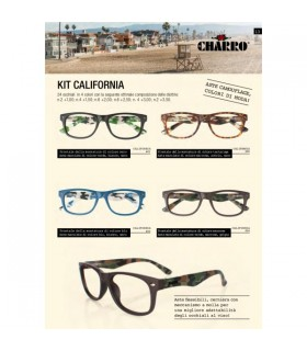 Ricariche Occhiali da Vista Charro Mod. California 4 pz. Diottria + 3.50