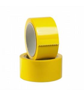 Nastro da pacchi Tesa 50x66 colore giallo