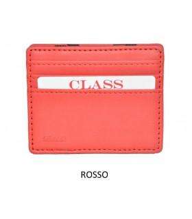 Portafoglio + P/Monete e P/Card Migio in Similpelle Colore Rosso