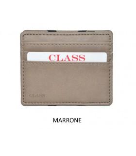 Portafoglio + P/Monete e P/Card Migio in Similpelle Colore Marrone