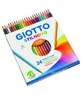 Pastelli Giotto Stilnovo da 24 pz.